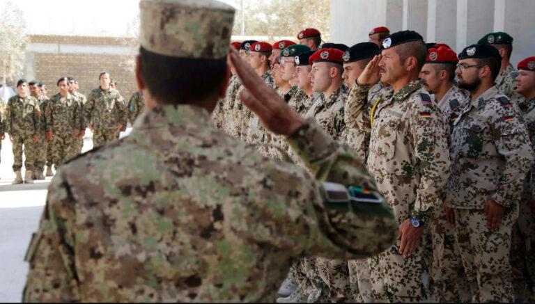 এবার আফগান থেকে বিদায় নিচ্ছে জার্মান সেনারাও