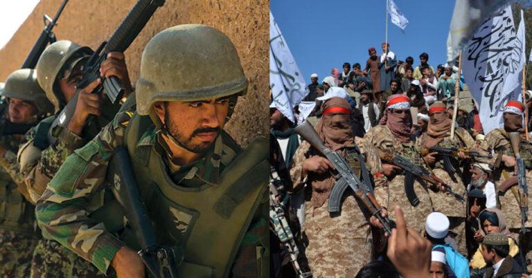 আফগানিস্তানে তালেবান ও সরকারী বাহিনীর মধ্যে লড়াইয়ে ৮০জন সেনাসহ নিহত দুই শতাধিক
